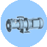 Positive displacement marine pump