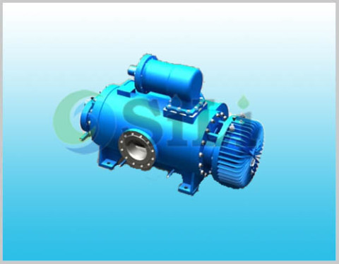 2GC twin screw pump, screw oil pump