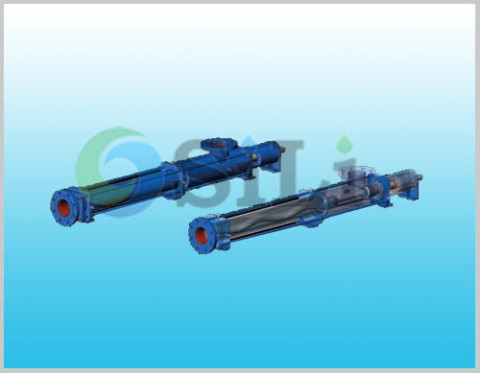 EH single screw pump, bornemann EH pump