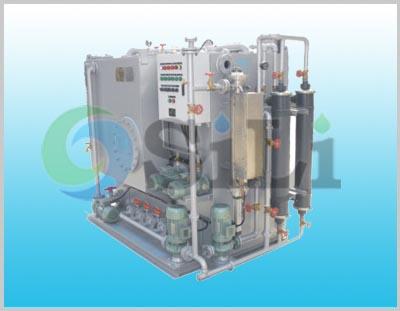 Marine sewage treatment