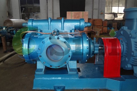 three screw marine pump