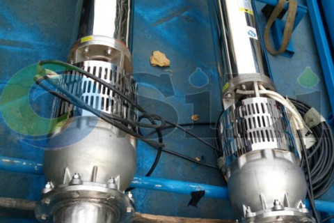 marine submersible deepwell pump